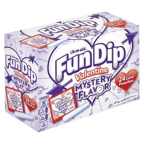 (Fun Dip Mystery Flavor Card & Candy Kit - 24 Count)
