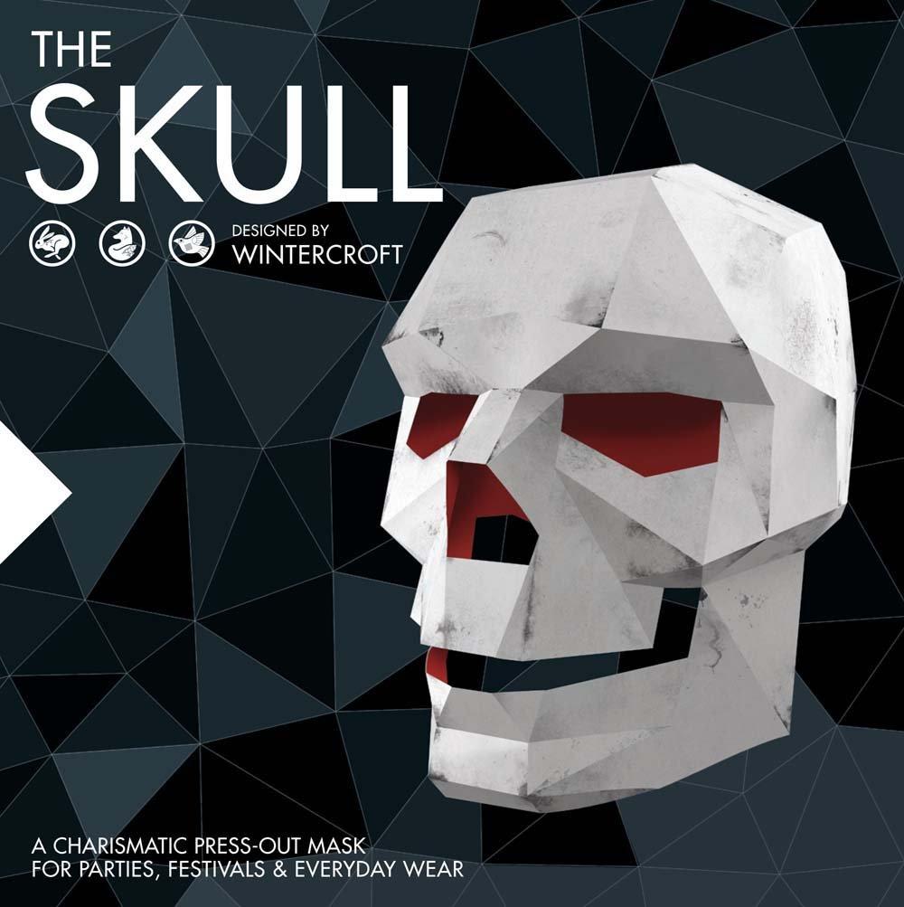 ویکالا · خرید  اصل اورجینال · خرید از آمازون · The Skull: A Charismatic Press-Out Mask for Parties, Festivals & Everyday Wear wekala · ویکالا