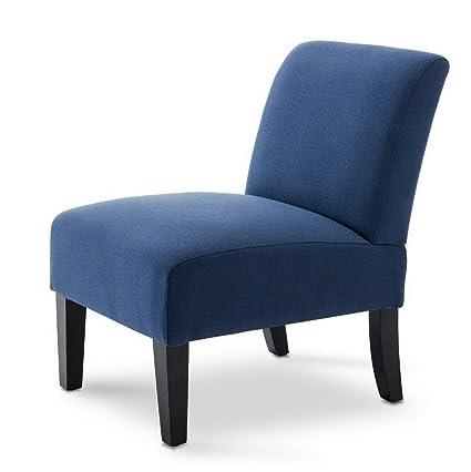 Amazon.com: Hebel Modern Upholstered Curved Back Living Room ...