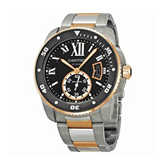 De Armbanduhr Cartier Diver Edelstahl Calibre Herren lcTFJK13