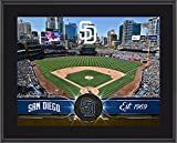 """San Diego Padres 10"""" x 13"""" Sublimated Team Stadium Plaque - Fanatics Authentic Certified - MLB Team Plaques and Collages"""