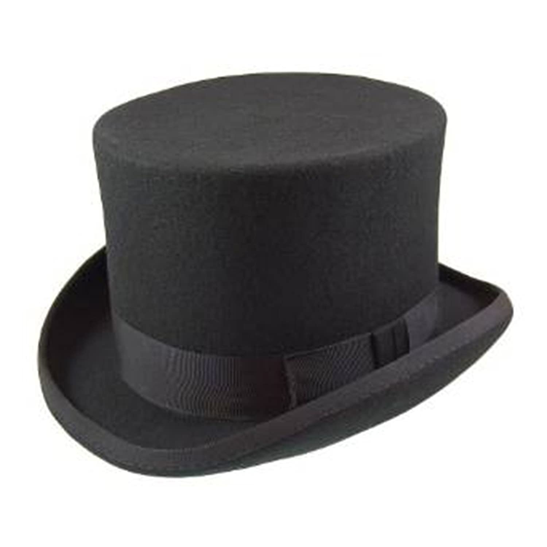 a6e44725d2a Men s Official Major Wear Top Hats in Various Colours   Sizes   Amazon.co.uk  Clothing