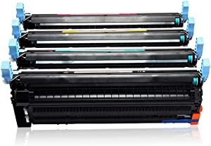 Color Laserjet Enterprise CP4005 CP4005n CP4005dn Printer Toner Cartridge Compatible with HP4 Pack CB400ACB401A CB402A CB403A-4colors