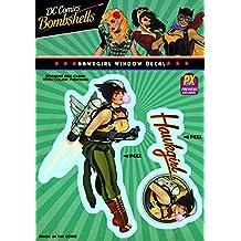 Elephant Gun DC Bombshells: Hawkgirl Vinyl Decal Toy