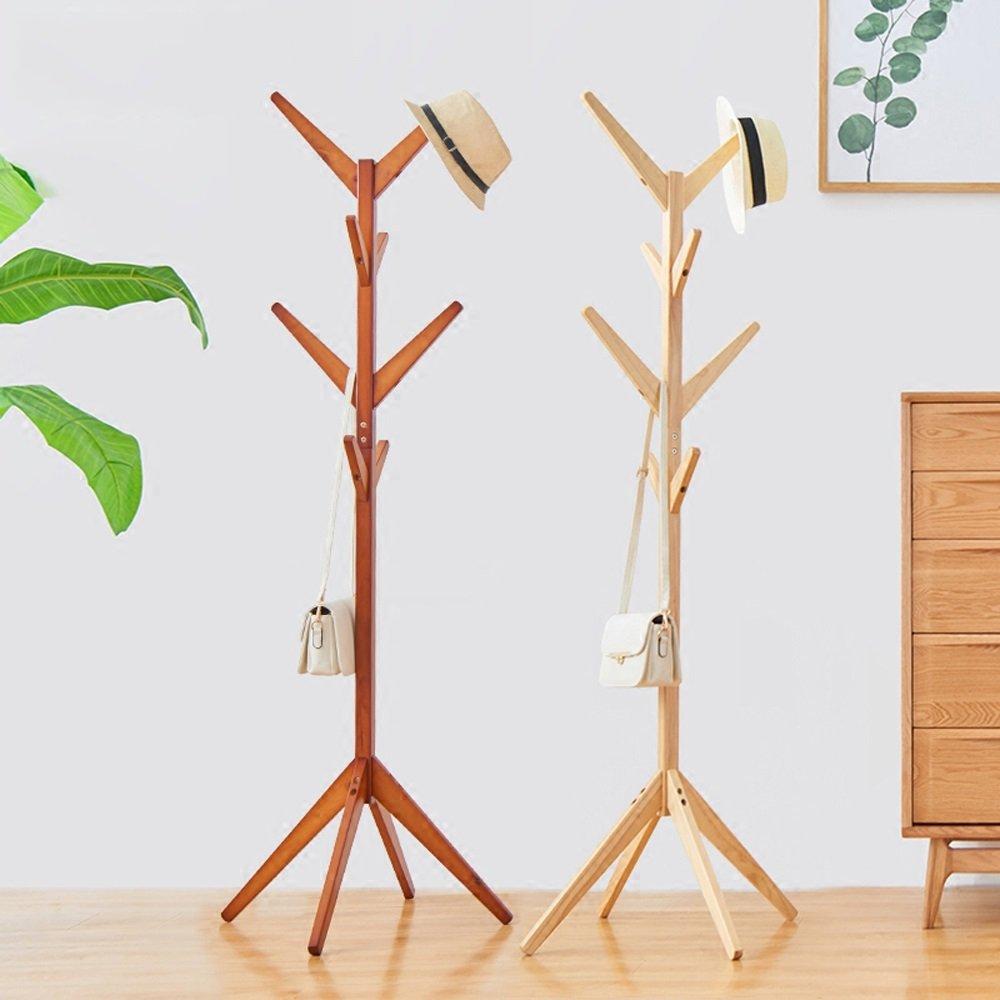 Amazon.com: Colgador de madera maciza para dormitorio, sala ...