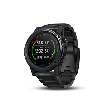 Garmin Descent MK1 GPS Dive Watch - Gray Sapphire with DLC Titanium Band