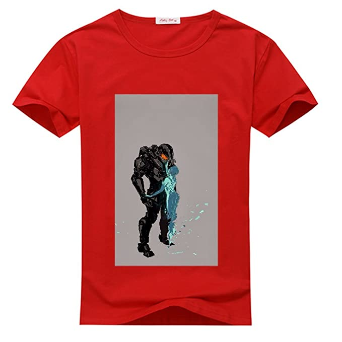 First ONE Mens T-Shirt Halo 4 Master Chief and Cortana