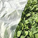 OriginA Plant Row Cover Summer Shading, 0.9 oz/sq.yd, 5x15ft,Bug/Insect Barrier Cover