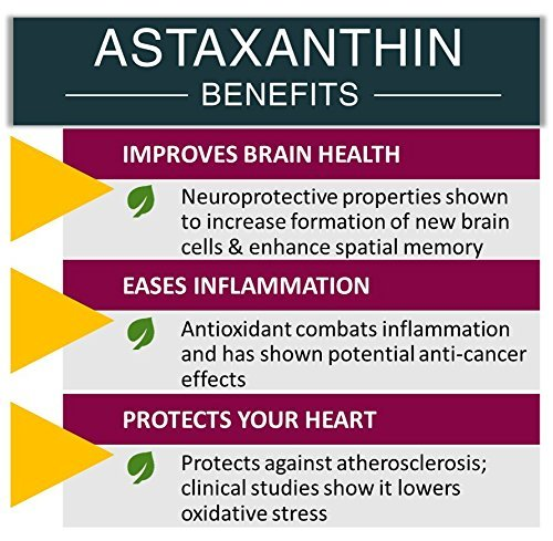 Astaxanthin PRO, Astaxanthin Pills Rejuvenate & Revitalize Your Body The ONLY Astaxanthin Supplement with Type-II Collagen Krill Oil Omega-3 & NAC for Anti-Oxidant Anti-Inflammation Power 60 Capsules by BE+ (Image #4)