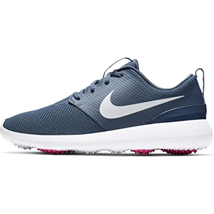33d8e8acd6d57 Nike Roshe G Spikeless Golf Shoes 2019 Women Monsoon Blue/Metallic  White/White Medium