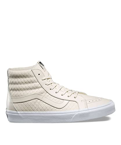 9c38d823e63d Vans Men Sk8-Hi Reissue DX - Armor Leather (White/Turtledove) Size