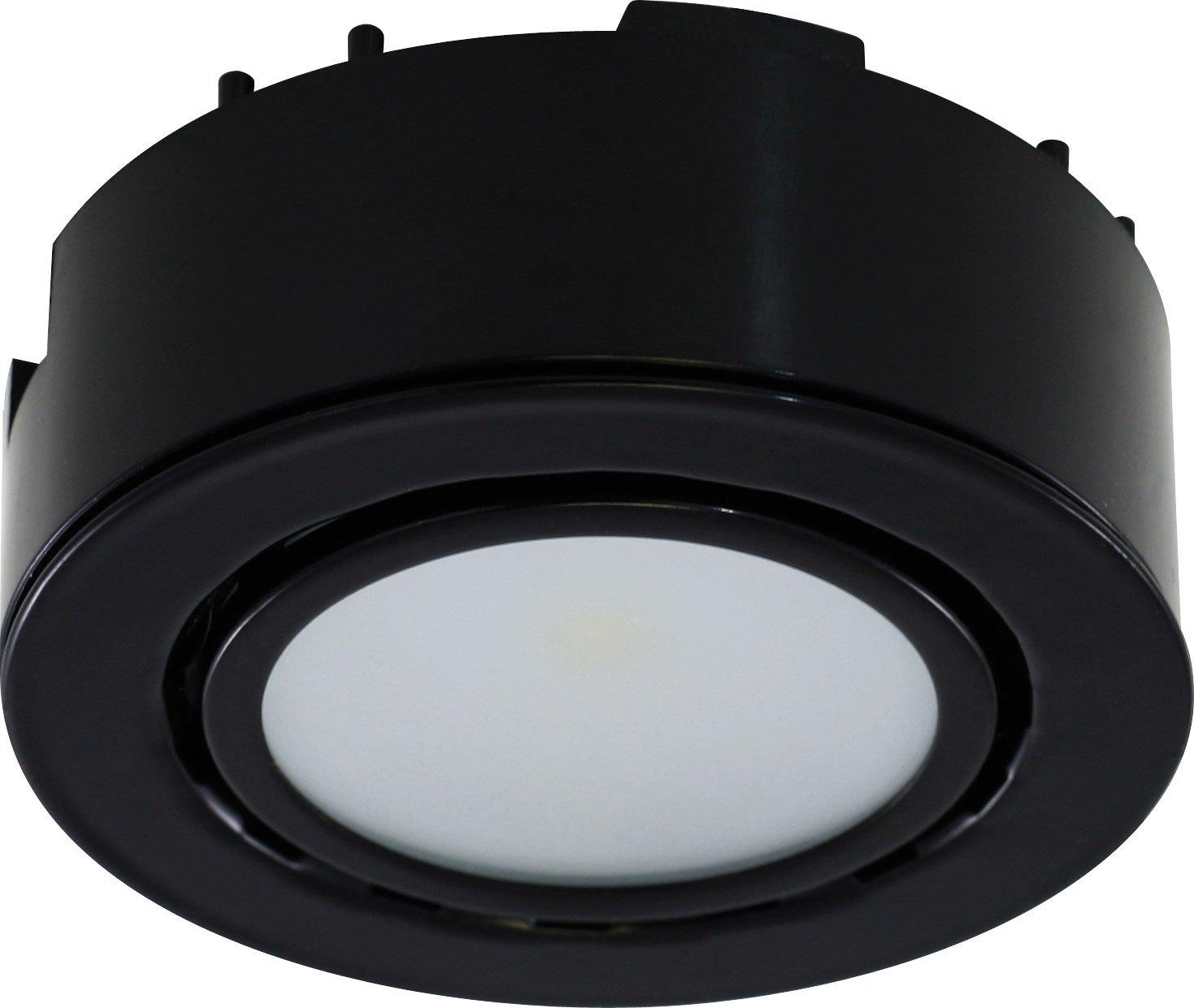 Liteline UCP-LED1-BK LED Puck Light, 12V, Black