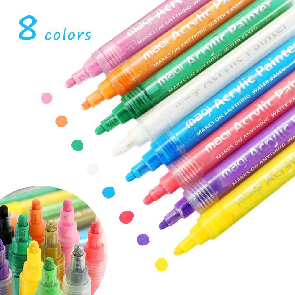 Pintura De Tela Graffiti Bolígrafos y marcadores de varios colores diseño de la impresión permanente