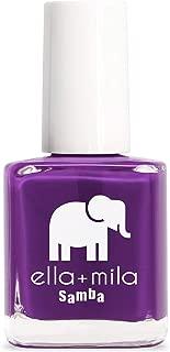 product image for ella+mila Nail Polish, Samba Collection - Purple Reign
