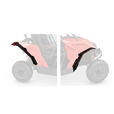 Can Am Maverick & Maverick Max Super Extended Fender Flares/mudguards #715001323: Automotive