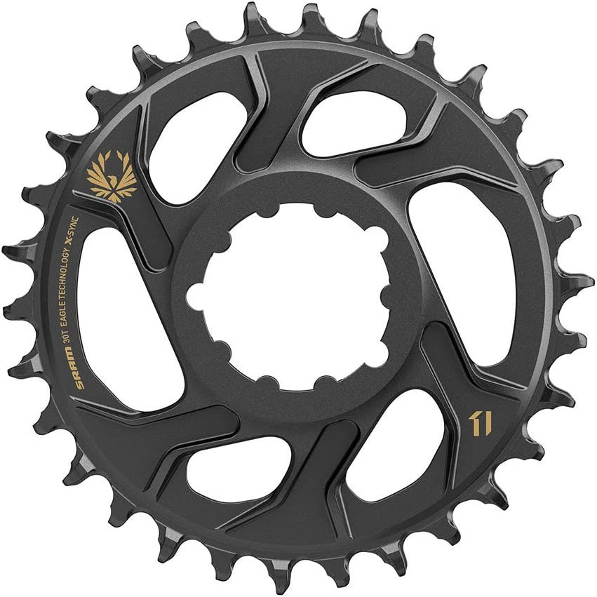 SRAM X-Sync 2 Eagle Cold Forged Direct Mount Chainring 30T 6mm Offset