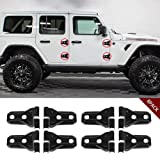 JeCar Door Hinge Cover JL Wrangler Accessories