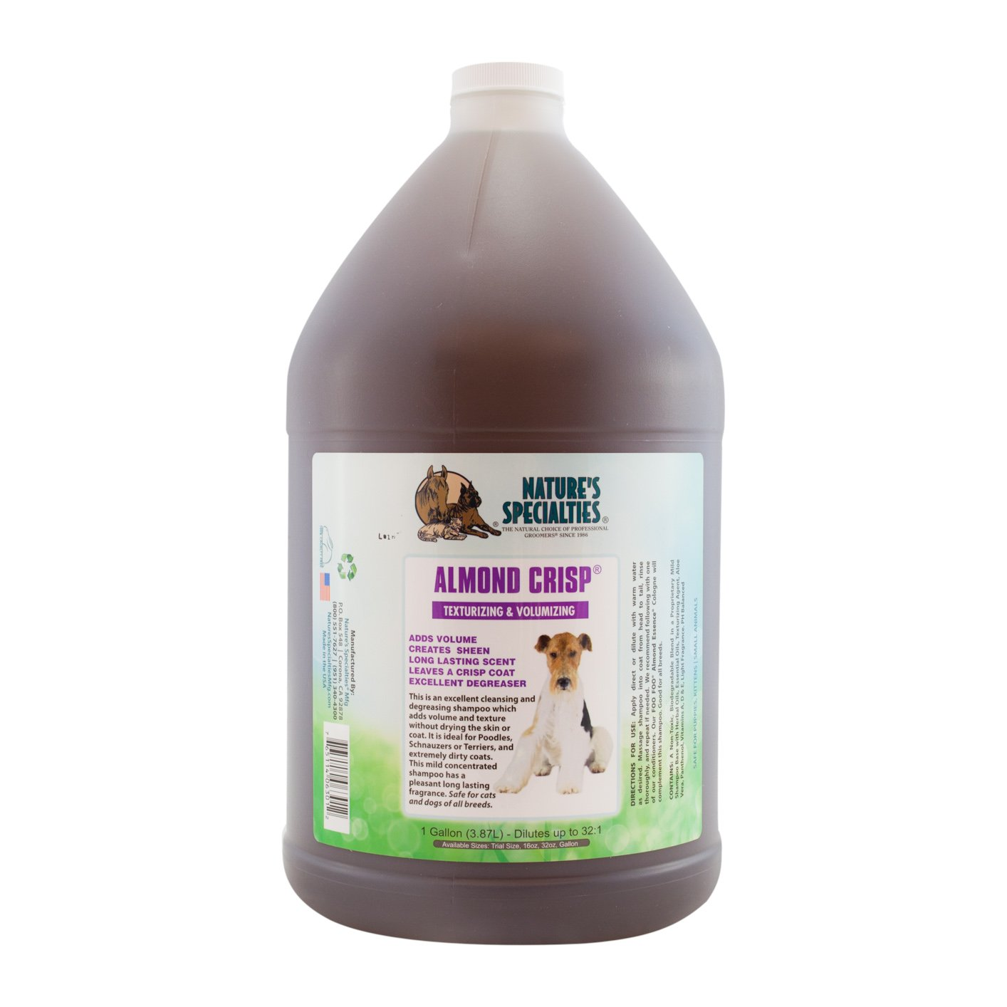 Nature's Specialties Almond Crisp Pet Shampoo