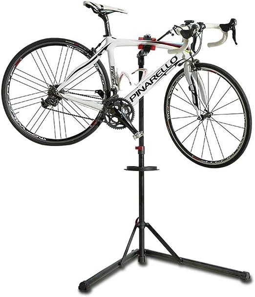 Soporte de reparación Bicicletas Plegable Portátil, Soportes Abrazadera Soporte Piezas El Material con Alto Contenido Carbono Carga máxima 75 kg Estacionamiento Truing Duty Bike Bicicleta: Amazon.es: Deportes y aire libre