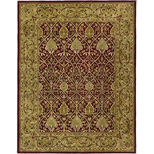Safavieh Persian Legend Collection PL819K Handmade Traditional Red and Gold Wool Area Rug (4' x 6') (And Gold Rugs Red Area)