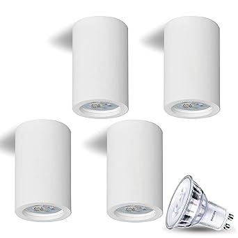 Lámpara de techo plafón Aufputz DIMM Bar Lamia (redondo ...