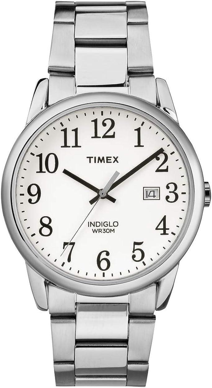 Timex Reloj Analógico para Hombre de Cuarzo con Correa en Acero Inoxidable TW2R23300