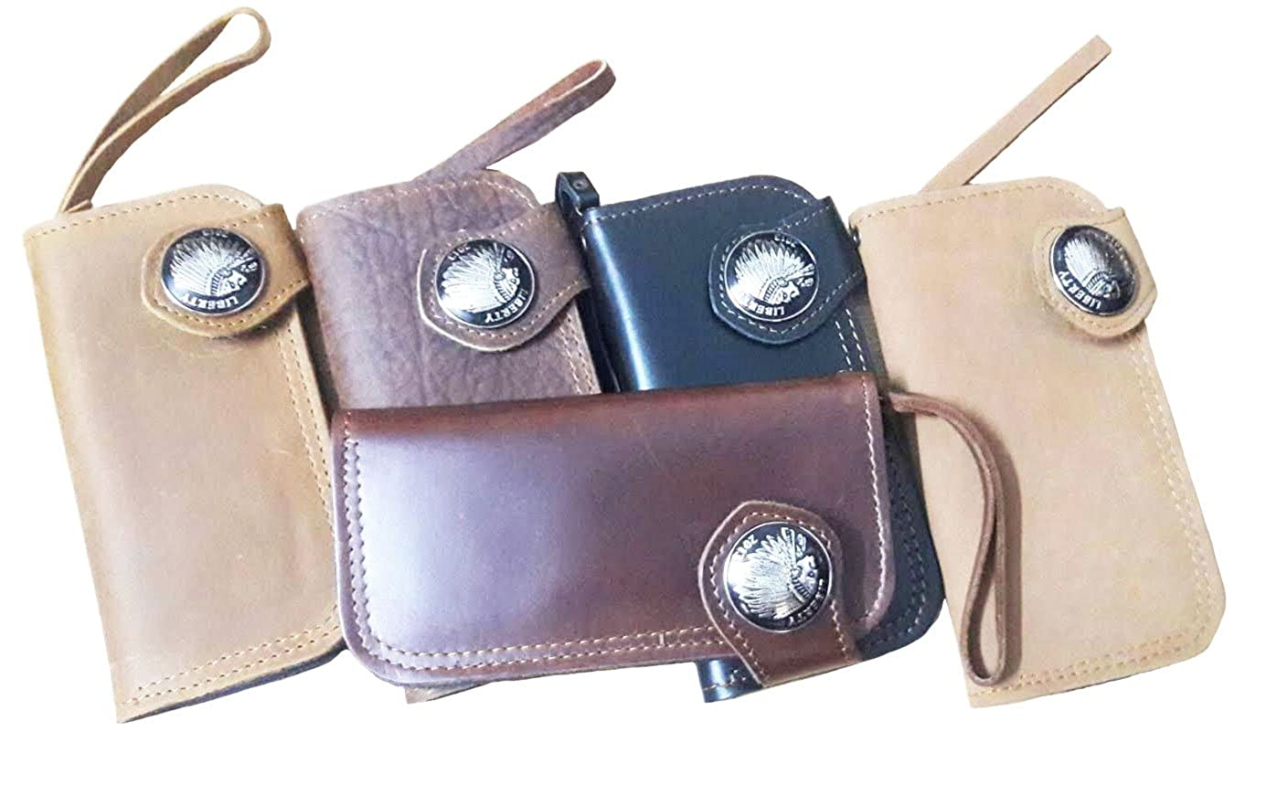 The Best Clutch Wallet Genuine Cow Hide Leather