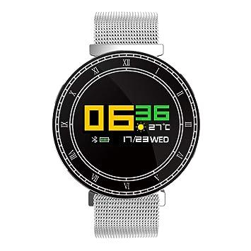 perfk 1 pc Reloj Inteligente Ip67 Digital impemeable Deportes Duradero - Plata: Amazon.es: Juguetes y juegos