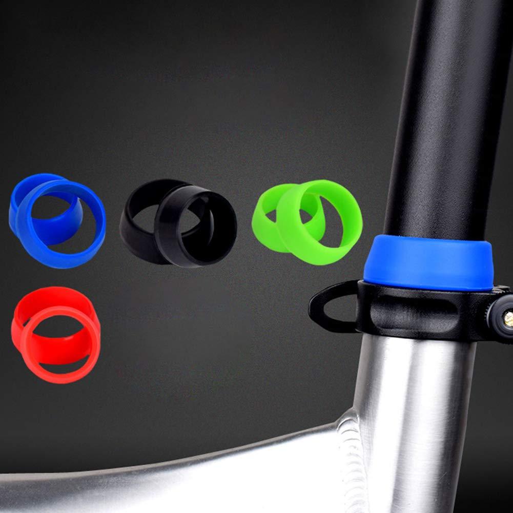 de Silicona Suave y Resistente al Agua Small a Prueba de Polvo Faderr 1 par de Fundas para sill/ín de Bicicleta para sill/ín de Bicicleta de monta/ña Azul