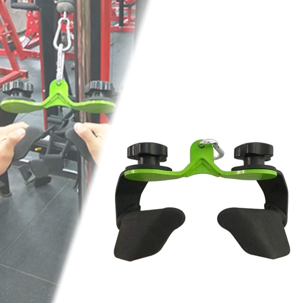 Parallel-Ergogriff Ycrdtap Rudergriff Eng Ohne Drehgelenk Vollstahl F/ür Bodybuilding Crossfit Krafttraining Fitness Training Gym Sport