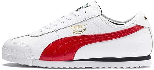 | PUMA Mens Roma 68 Vintage Low Top Sneakers