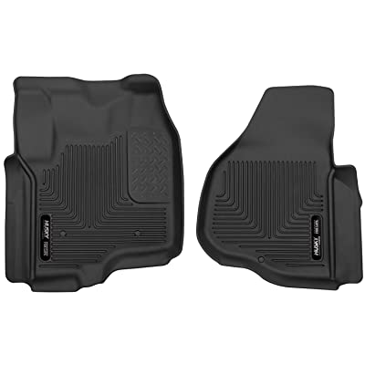Husky Liners Fits 2012-16 Ford F-250/F-350 Crew Cab/SuperCab X-act Contour Front Floor Mats: Automotive