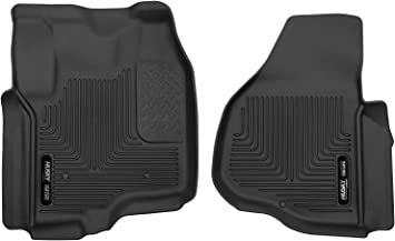 HUSKY X-Act Contour Floor Mats for 12-16 Ford F250 F350 SuperCab Front Back Row