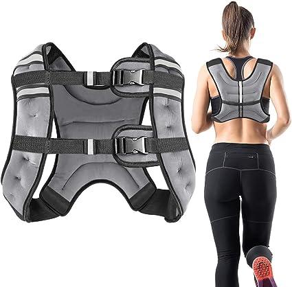 Gewichtsweste Laufweste Training Fitness Sport Ausdauer Kraft Gewichtsverlust CA