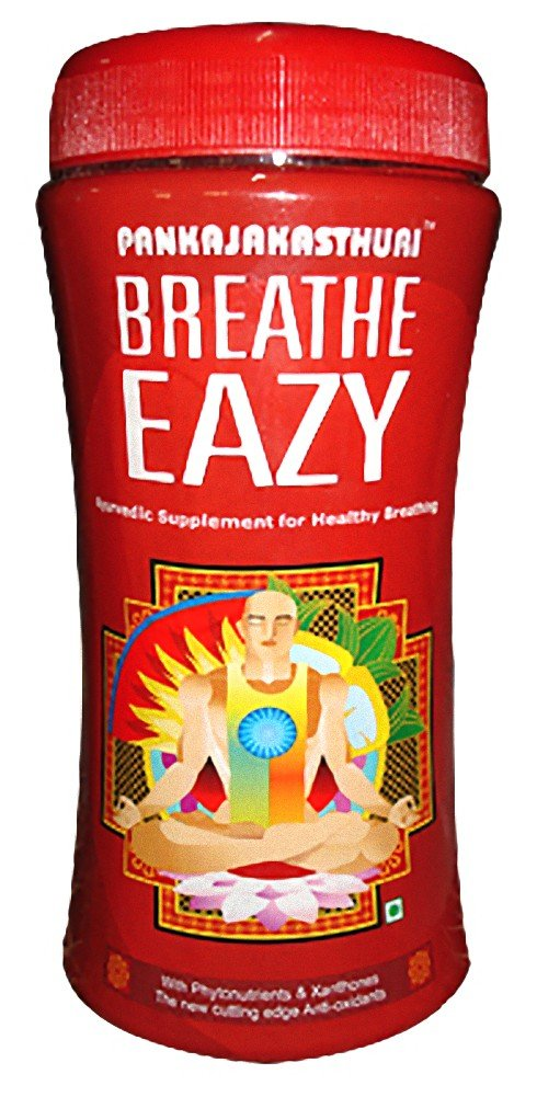 BREATHE EAZY (6 bottles - 90 days supply) Herbal Remedy For Asthma & Allergy by Pankaj Kasthuri