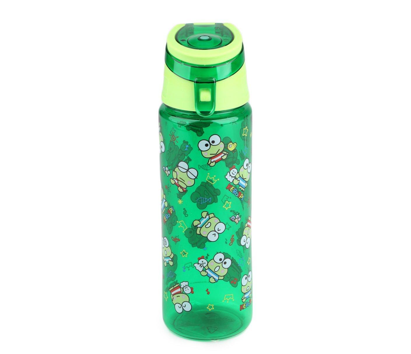 SANRIO Keroppi Water Bottle: Retro Fun