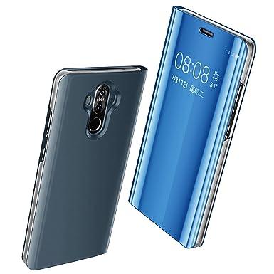 Carcasa Huawei Mate 10 Case Mirror Funda Inteligente Fecha ...