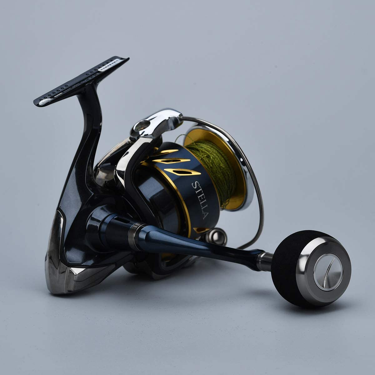 Gomexus Poign/ée Moulinet EVA pour Shimano Twinpower XD 1000-5000 Stradic 1000-4000 Daiwa Exceler Certate LT 1000-4000 Bouton Spinning Moulinet Direct,Daiwa BG Ninja Penn Spinfisher Perceuse