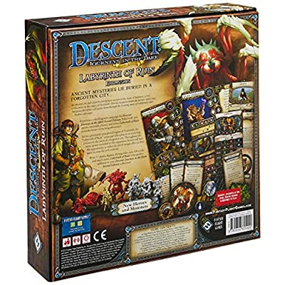 Descent Second Edition: The Labyrinth of Ruin: Fantasy Flight Games: Toys & Games