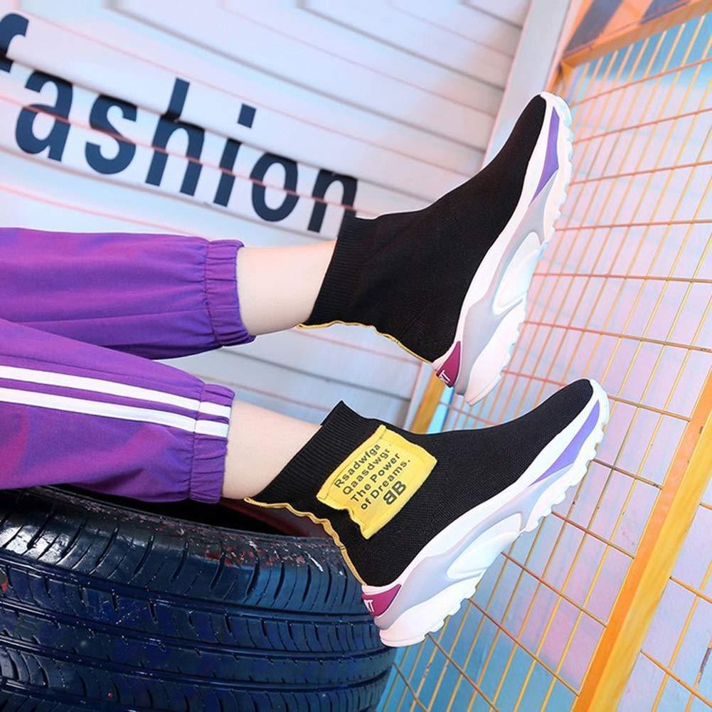 Damen Turnschuhe Frühling die neuen neuen neuen Casual Damenschuhe atmungsaktive Turnschuhe erhöht Mesh Sportschuhe in dicken Sohle dicke weiße Schuhe (Farbe   EIN Größe   39) 03d572