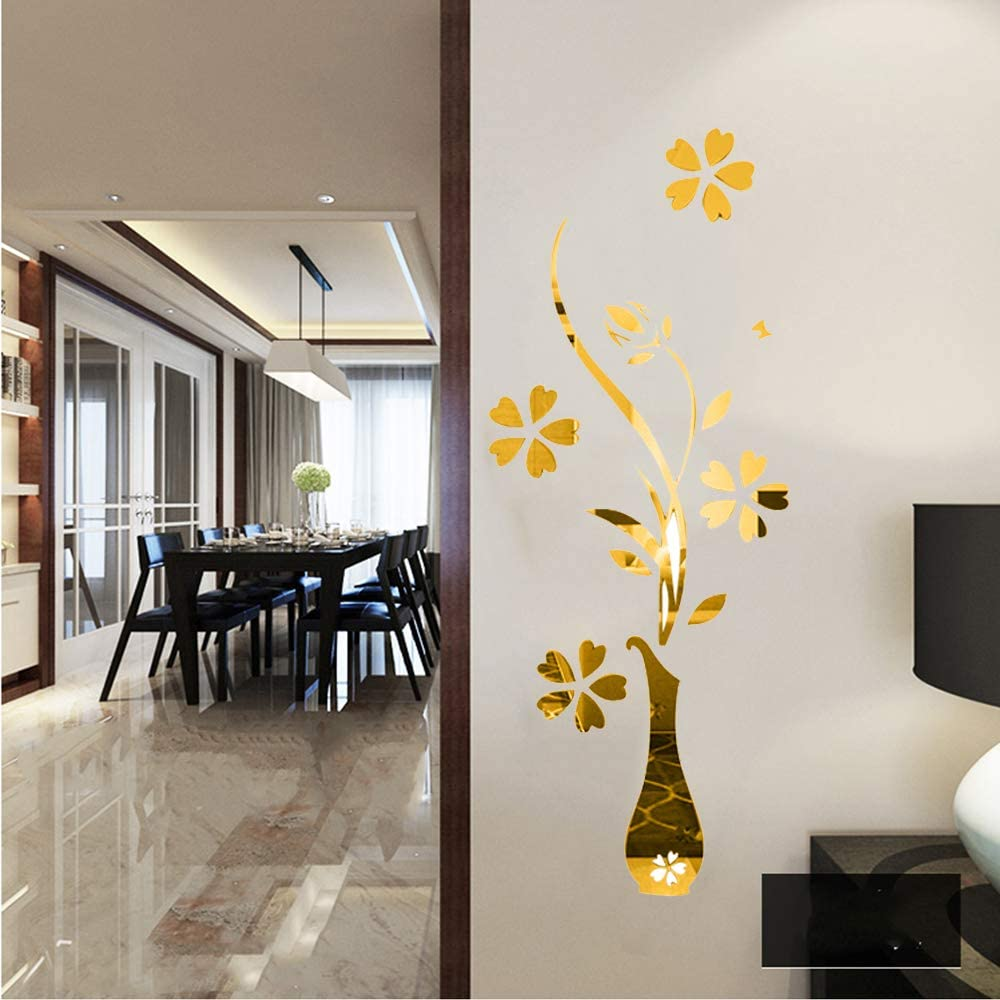 3D Realistic Floral Self-adhesive Removable Bedroom Wallpaper Wall Mural 023
