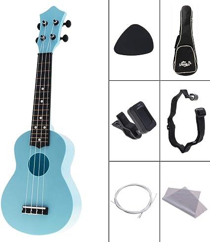 BUBBLE Ukulele 4 cuerdas 21 pulgadas guitarra Guitarra Guitarra ...