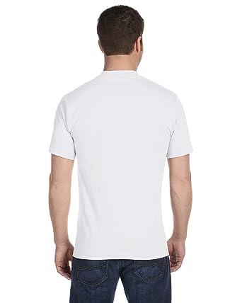 Hanes Men's TAGLESS ComfortSoft Crewneck T 4P_White_S