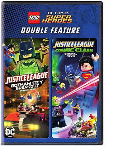 LEGO DC Super Heroes: Justice League: Gotham City Breakout/Cosmic Clash (DBFE) (DVD)