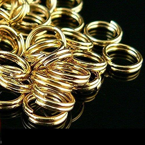 5 mm split jump rings - 4