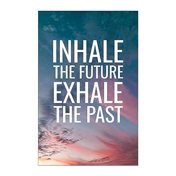 Amazon.com: Yoga Motivational Poster Meditation Life Quote ...