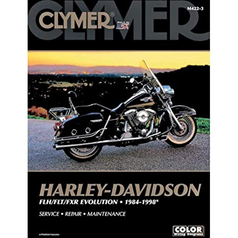 amazon com: clymer harley-davidson flh/flt/fxr evolution (1984-1998)  (53145): automotive