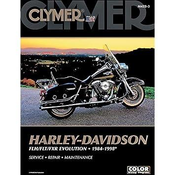 Clymer Harley-Davidson FLH/FLT/FXR Evolution (1984-1998) (53145) on