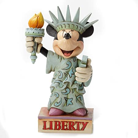 Disney Traditions Minnie Statue of Liberty