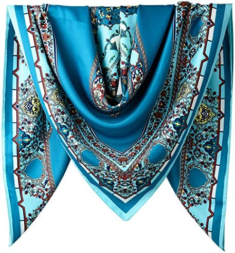 Polyester Feeling Square Wrapping Scarfs